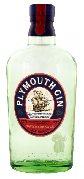 Plymouth Navy Strength Gin 57% 0,7 Liter