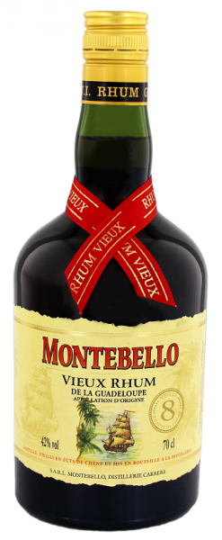 Montebello 8YO Vieux Rhum 0,7 Liter 42%