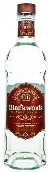 Blackwood's Vintage Dry Gin - Shetland Islands 0,7 L