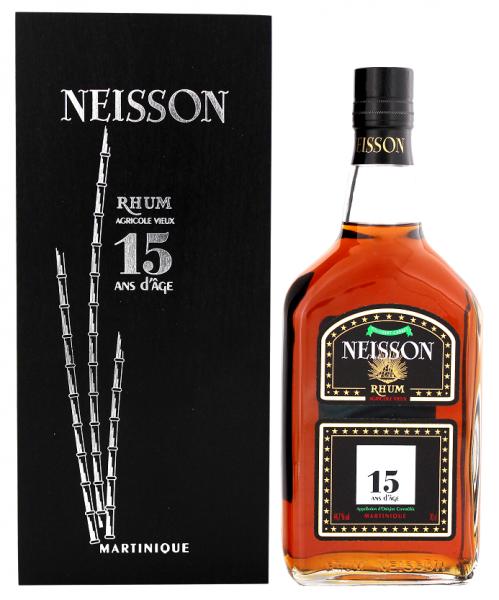 Neisson 15YO Vieux Agricole Rhum 0,7 Liter 44,7%