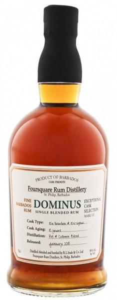 Foursquare Dominus 10YO Rum 0,7 Liter 56%
