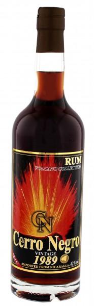 Cerro Negro 1989 Vintage Rum 0,7 Liter 42%