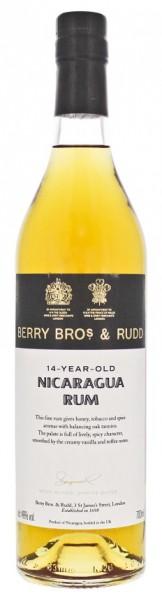 Berry Bros & Rudd Nicaragua 14YO Rum 0,7 Liter 46%