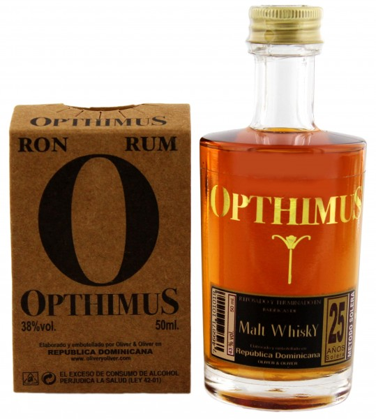 Opthimus 25YO Malt Whisky Barrel 0,05