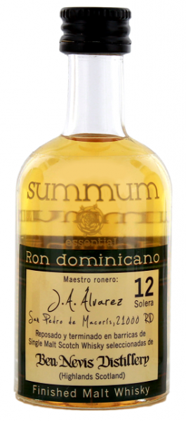 Summum 12YO Malt Whisky Finish Ron 0,05 Liter 43%