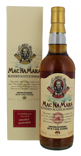 MacNaMara Rum Finish Blended Whisky 0,7 Liter 40%