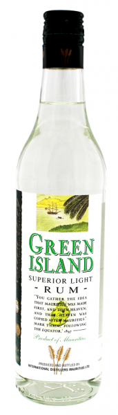 Green Island Superior Light Rum 0,7 Liter 40%