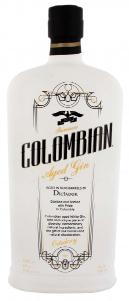 Colombian Aged Gin White 0,7 Liter