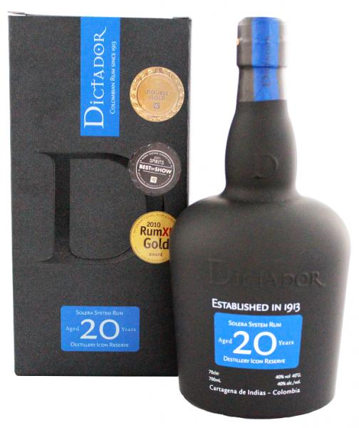 Dictador 20YO Solera 0,7 Liter