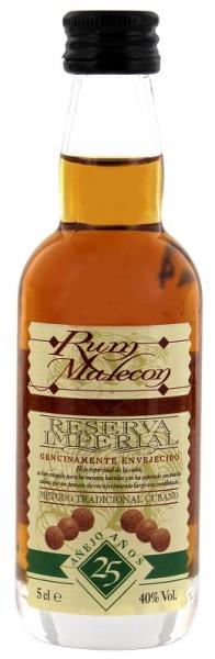 Malecon 25YO Reserva Imperial Rum 0,05 Liter 40%