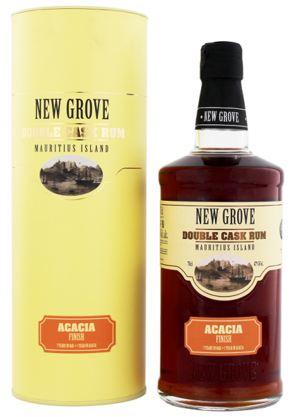 New Grove Double Cask Acacia Finish Rum 0,7 Liter 47%