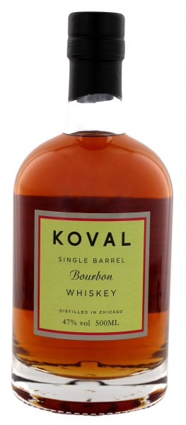 Koval Bourbon Single Barrel 0,5L