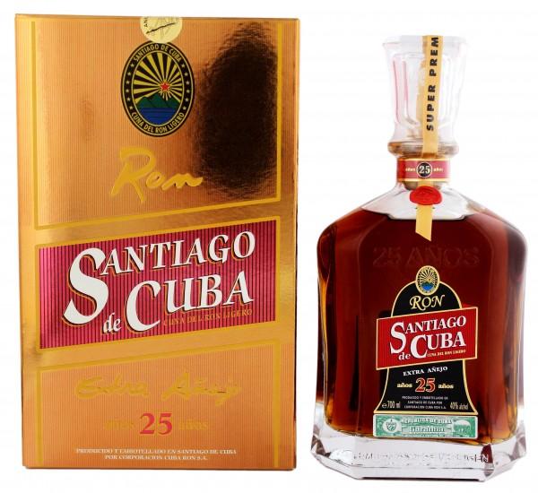 Santiago de Cuba Extra 25YO 0,7 Liter