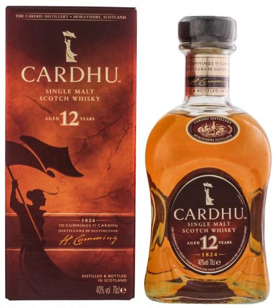 Cardhu 12YO Single Malt Scotch Whisky 0,7 Liter 40%