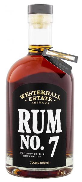 Westerhall No. 7 Rum  0,7 Liter