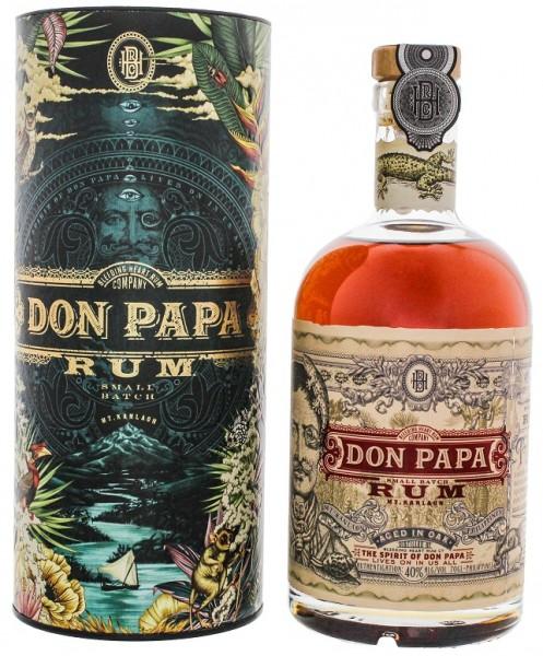 Don Papa Rum Cosmic Tube 0,7 Liter 40%