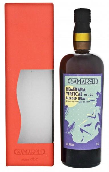 Samaroli Demerara Vertical Blended Rum 03-04 (2017) 0,7L