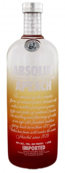 Absolut Apeach Schweden 1,0L