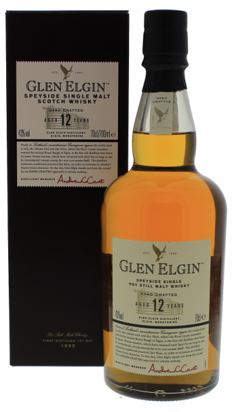 Glen Elgin 12YO 0,7 Liter