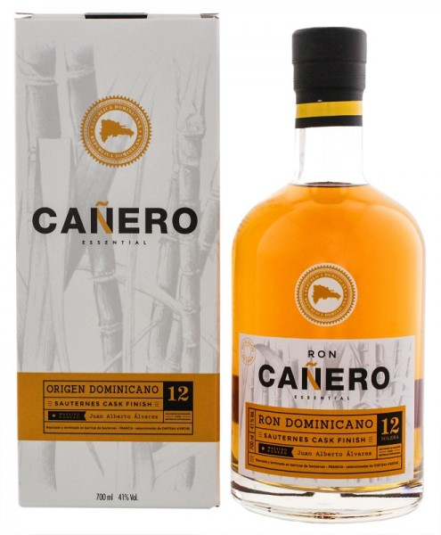 Ron Canero Essential 12YO Sauternes Cask Finish 0,7 Liter 41%