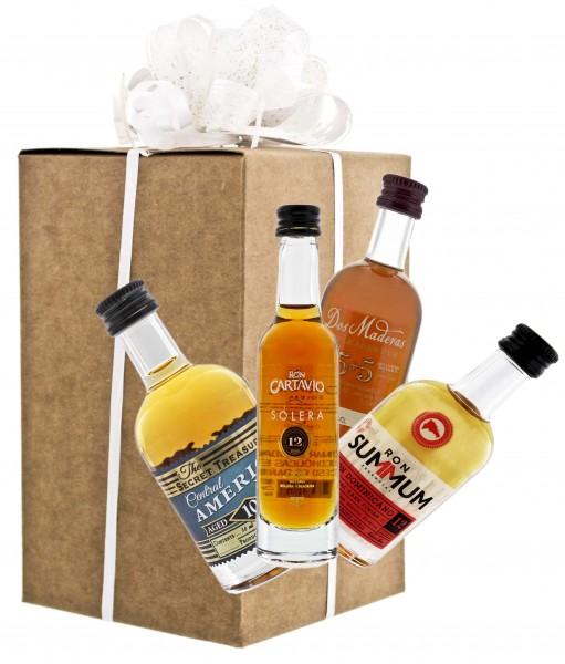 Rum Tastingset (4 x 0,05 Liter) 40,75%