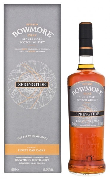 Bowmore Springtide Single Malt Whisky 0,7 Liter 54,9%