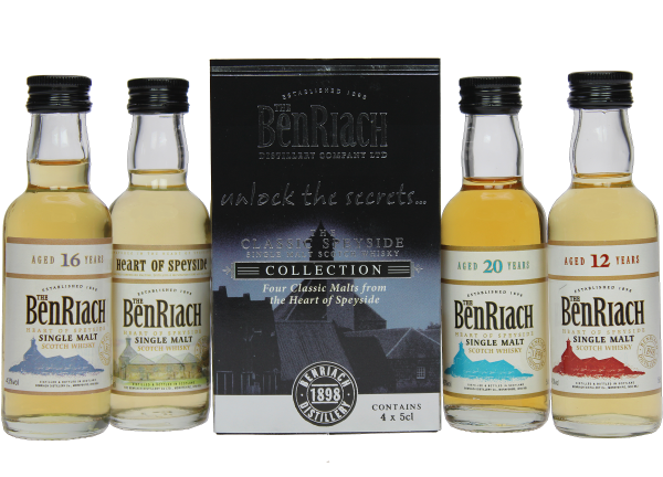 BenRiach Classic Speyside Collection Geschenkeset