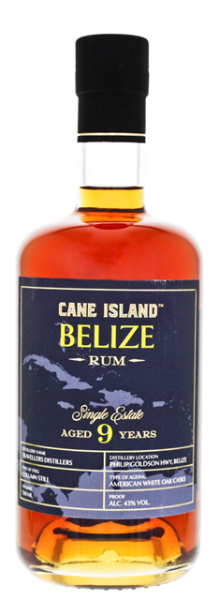 Cane Island Belize 9YO Single Estate Rum 0,7 Liter 43%