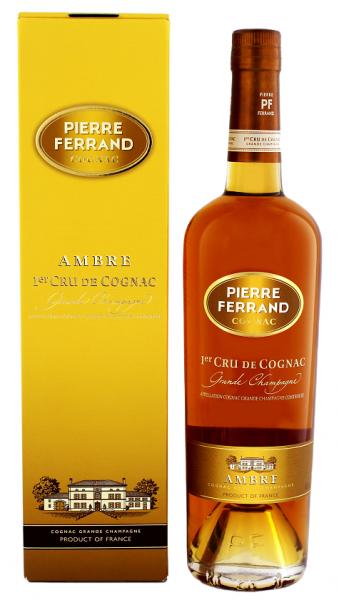 Pierre Ferrand Ambre Grande Champagne 0,7 Liter 40%