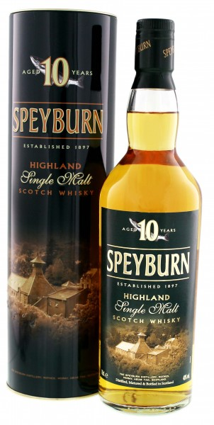 Speyburn 10YO Single Malt Whisky 0,7 Liter 40%