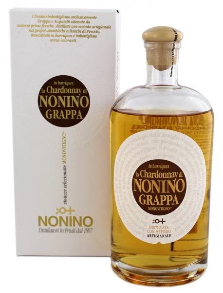Nonino Grappa Lo Chardonnay 0,7 Liter