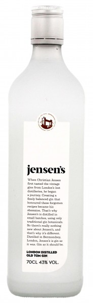 Jensen's Old Tom Gin 0,7 LIter