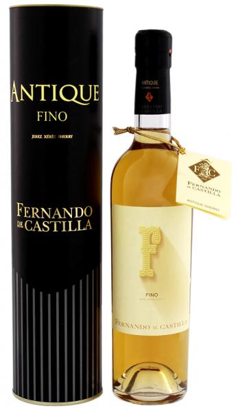 Fernando de Castilla Antique Fino Sherry 0,5 Liter 20%