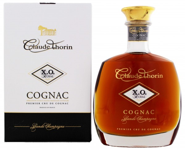 Claude Thorin Cognac Grande Champagne X.O. Royal 0,7 Liter 40%