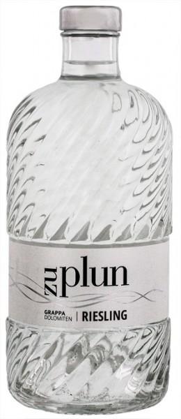 Zu Plun Riesling Dolomiten Grappa 0,5 Liter 42% Vol.
