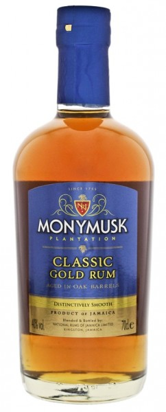 Monymusk Plantation Classic Gold Rum 0,7 Liter 40%