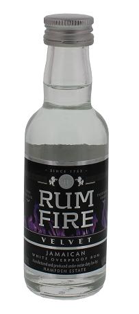 Rum Fire Velvet Overproof Rum 0,05 Liter 63%