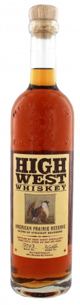 High West American Prairie Reserve Bourbon 0,7 Liter