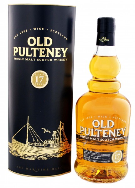 Old Pulteney 17YO Malt Whiskey 0,7L