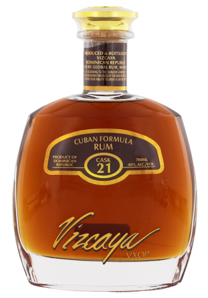 Vizcaya Cask 21 VXOP Rum 0,7 Liter 40%