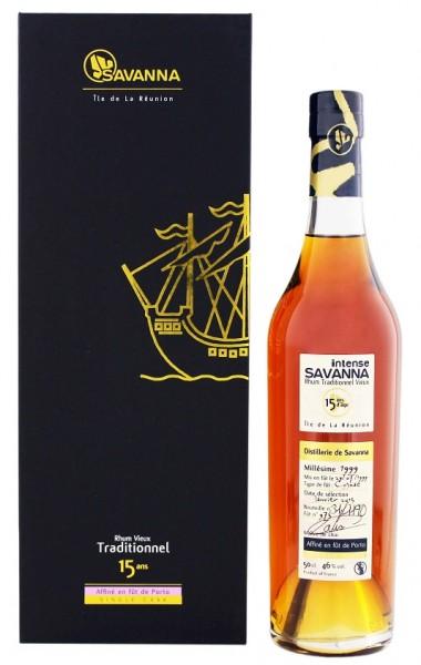 Savanna 15YO Vieux Traditionnel Port Finish Rhum 0,5 Liter 46%