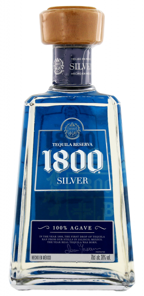 Cuervo 1800 Blanco 100% Agave 0,7 Liter 38%