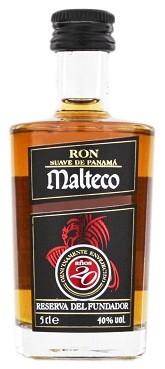 Malteco 20YO Rum 0,05 Liter 40%