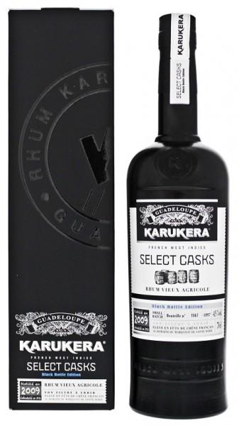 Karukera 2009 Select Casks Rhum 0,7 Liter 45%