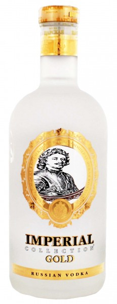 Imperial Collection Gold Vodka 0,7 Liter 40%