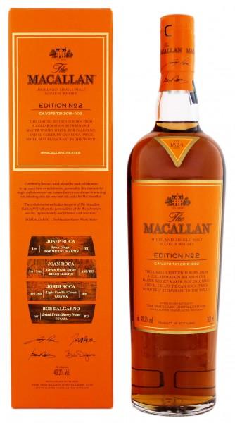 Macallan Edition No. 2 Single Malt Scotch Whisky 0,7 Liter 48,2%