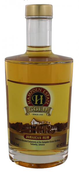 Hampden Estate Gold Rum 0,35 Liter 40%
