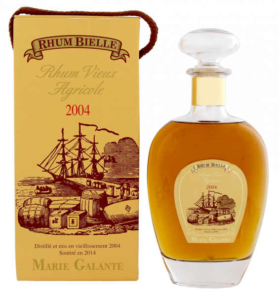 Bielle Vieux 2004/2014 Agricole Rhum 0,7 Liter 45%