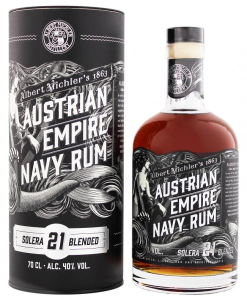 Austrian Empire Navy Solera 21YO 0,7 Liter