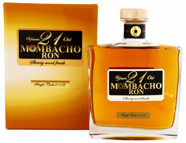Mombacho 21YO Sherrywood-Finish 0,7 Liter
